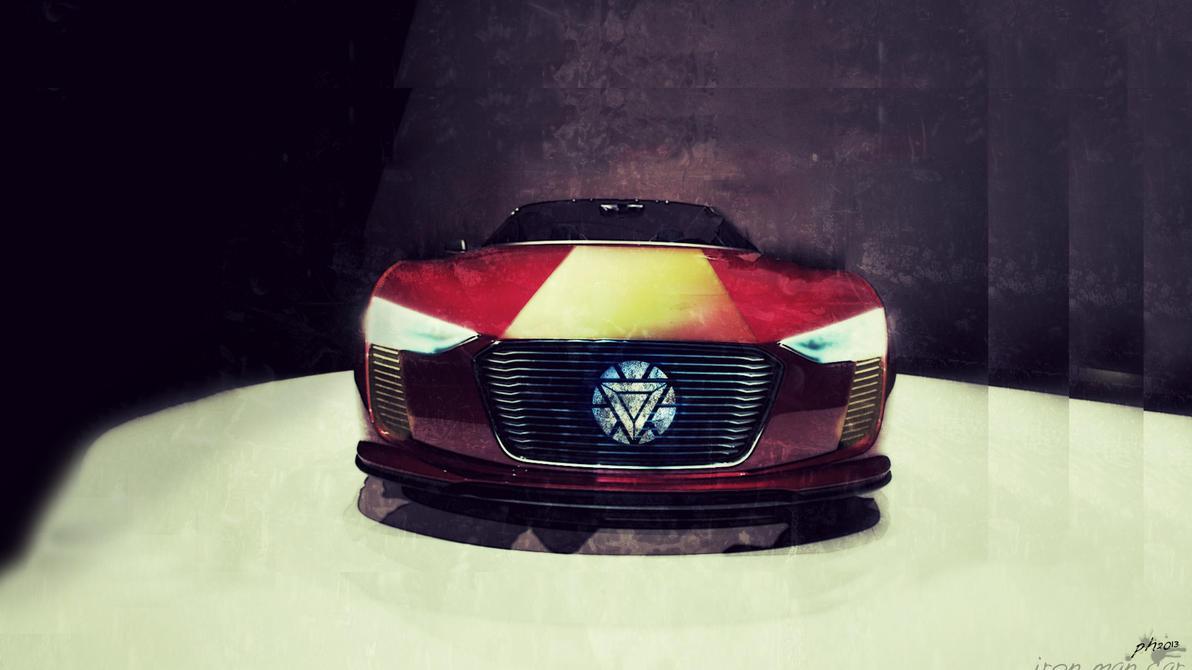 Iron Man Car by padalox