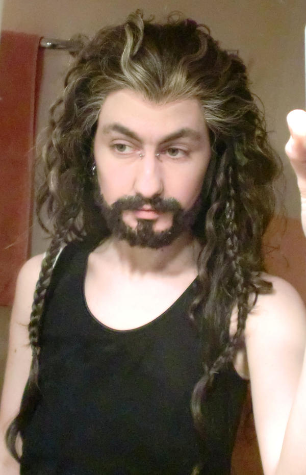 Thorin Oakenshield (Makeup test) by hizsi