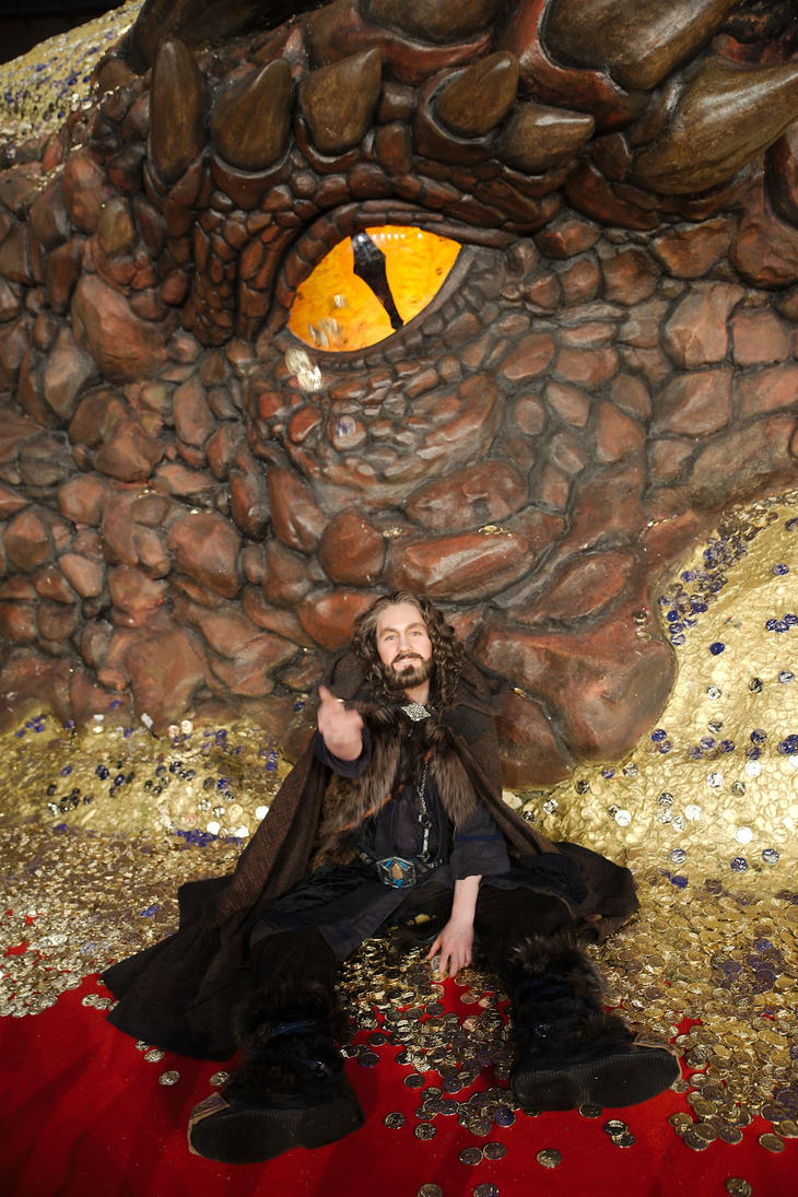 Thorin and Smaug by hizsi