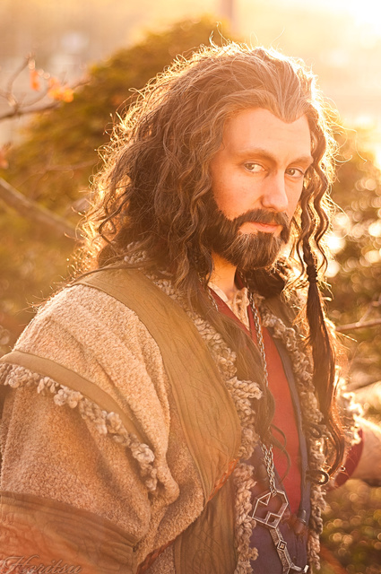 Thorin  - the last ray of sunshine on Durins Day by hizsi
