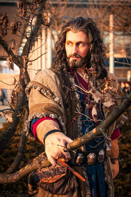Thorin Oakenshield - Leipzig book fair 2014 by hizsi