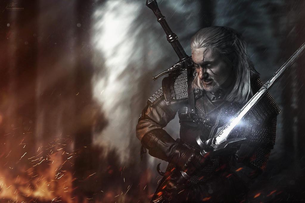 Geralt - empyreumatic situation by hizsi