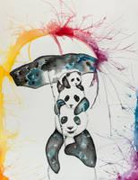 Panda by sylviadawn