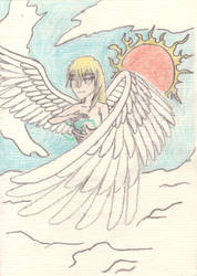 Angel Christmas Gift Picture