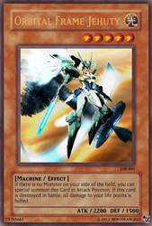 Orbital Frame Jehuty Yu-Gi-Oh! Card (Super rare) by NeroDeAngelo
