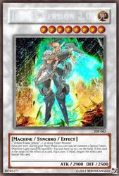 Jehuty Version 2.0 Yu-Gi-Oh! Card (Secret Rare) by NeroDeAngelo