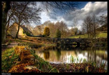 Mini Dam by Megglles