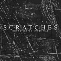 scratches brush photoshop by brushads