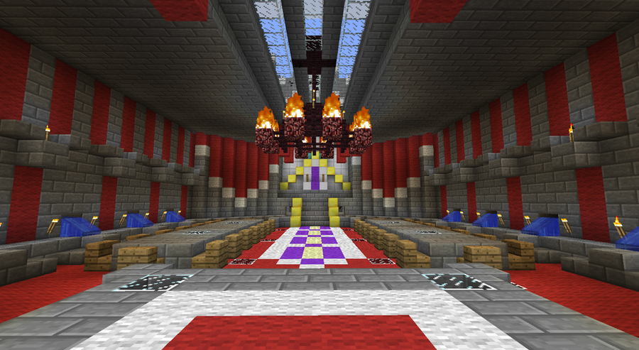 Epic Minecraft Castle Feast Hall by CW390 on DeviantArt