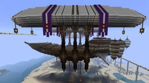 Royal Minecraft Airship update