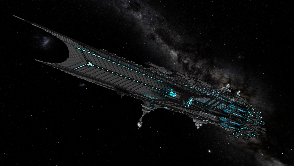 starmade glaive class battleship by cw390 on deviantart