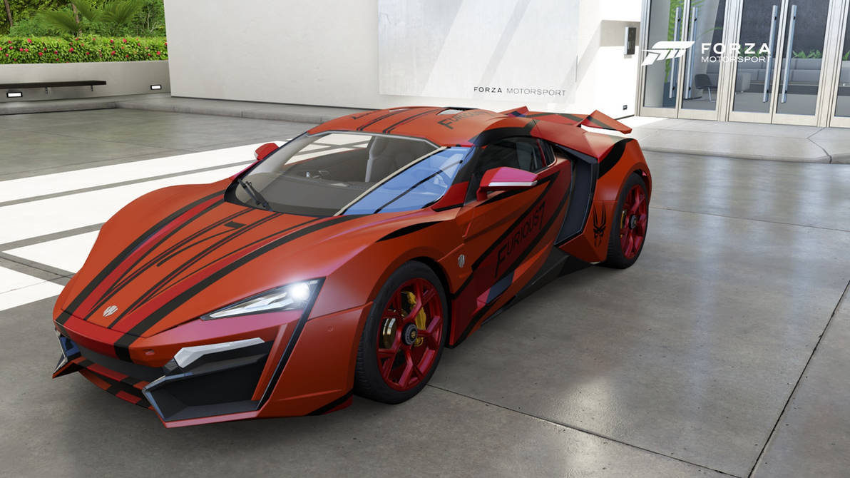 Lykan HyperSport FF 7 3-4 View, Front by Corporate