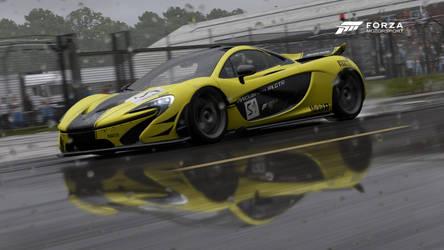 P1 GTR in the rain by Corporate-Kickass131
