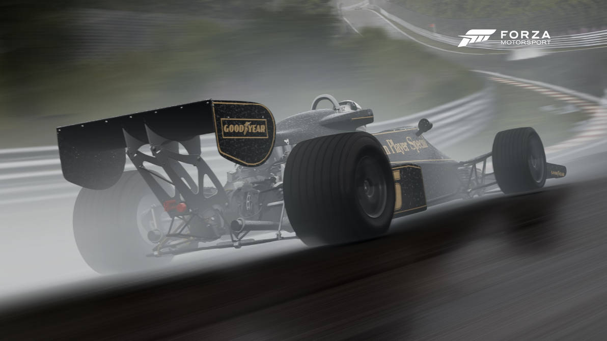 Lotus cosworth f1