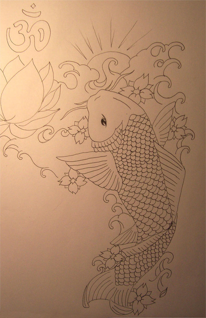 Koi fish cover up by sophie2208 on deviantart for Koi fish cover up
