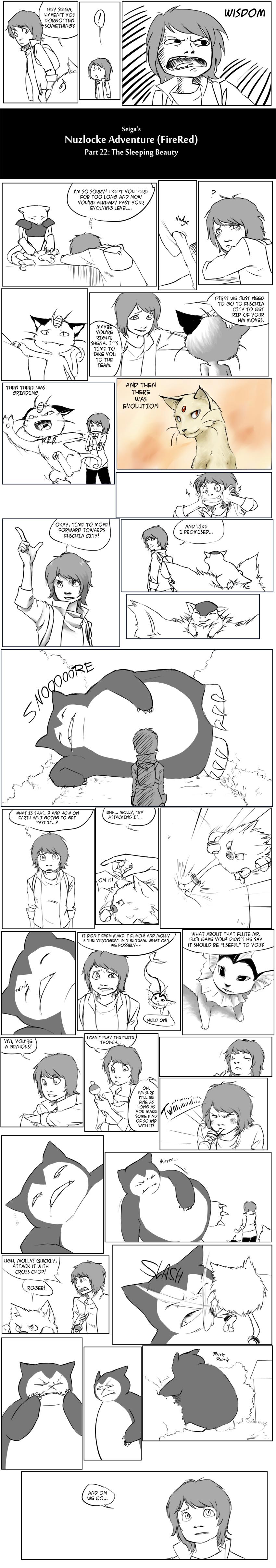 Nuzlocke Adventure Part 22 by Seiga