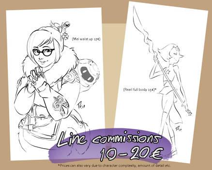 Line Commissions