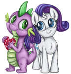 Request 5: mini Rarity and Spike