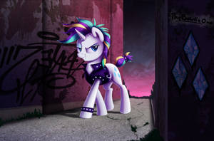 Punk Rarity by TheBowtieOne
