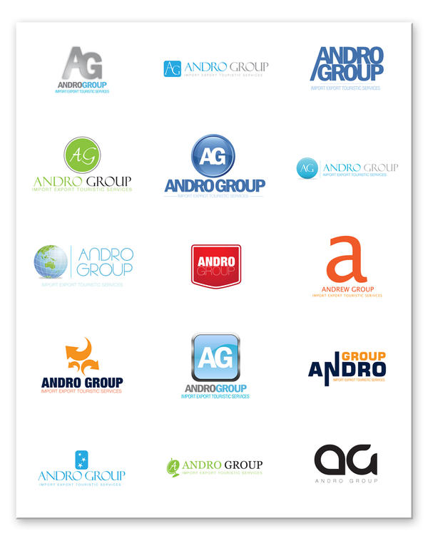 AndroGroup Logo Options by beshoywilliam on DeviantArt: beshoywilliam.deviantart.com/art/androgroup-logo-options-102803460