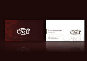 Ejar Business Card Design by beshoywilliam