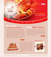 Rofi website design Option 3 by beshoywilliam