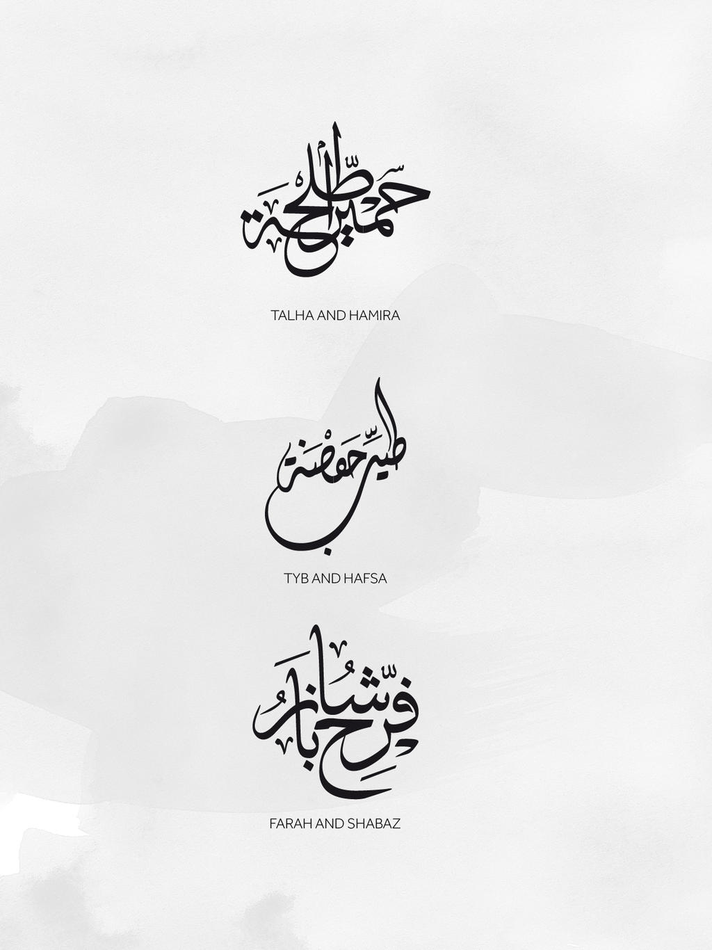 Arabic Calligraphy Names By Beshoywilliam On Deviantart