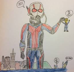 Ant-Man picks up Trump by american069
