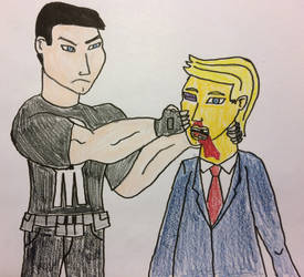 Punisher vs Trump by american069