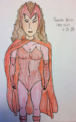 Scarlet Witch ( my style color ver. ) by american069