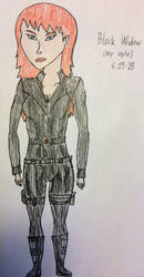 Black Widow (my style color ver.) by american069