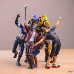 Avengers selfie. by american069