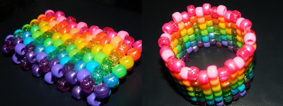 Rainbow Cuff by SmexiiRen