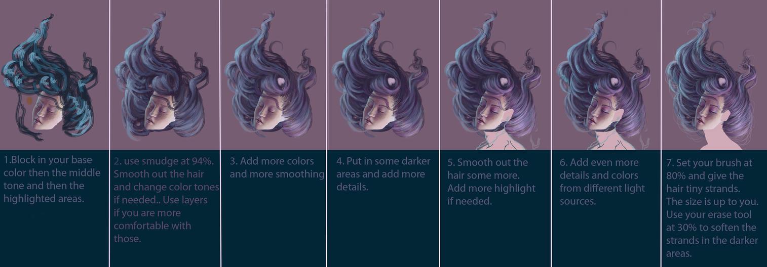 Hair Tutorial by JenniferHealy