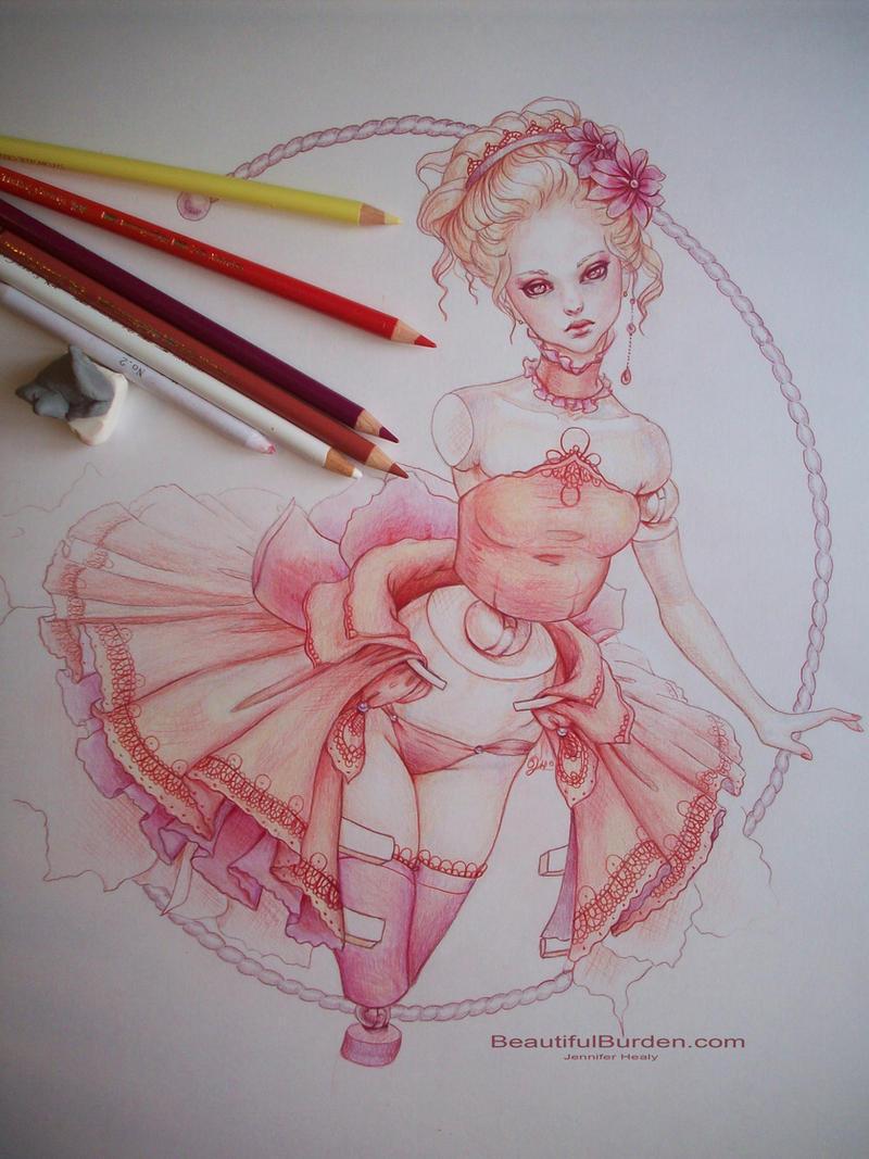 Rococo Ballerina by JenniferHealy
