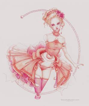 Rococo Ballerina- Print