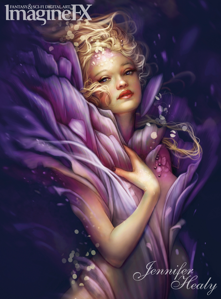 ImagineFX Issue 104 Cover by JenniferHealy