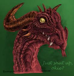 That one dragon.. by dragonictoni