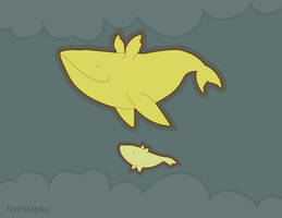 If whales could fly by dragonictoni