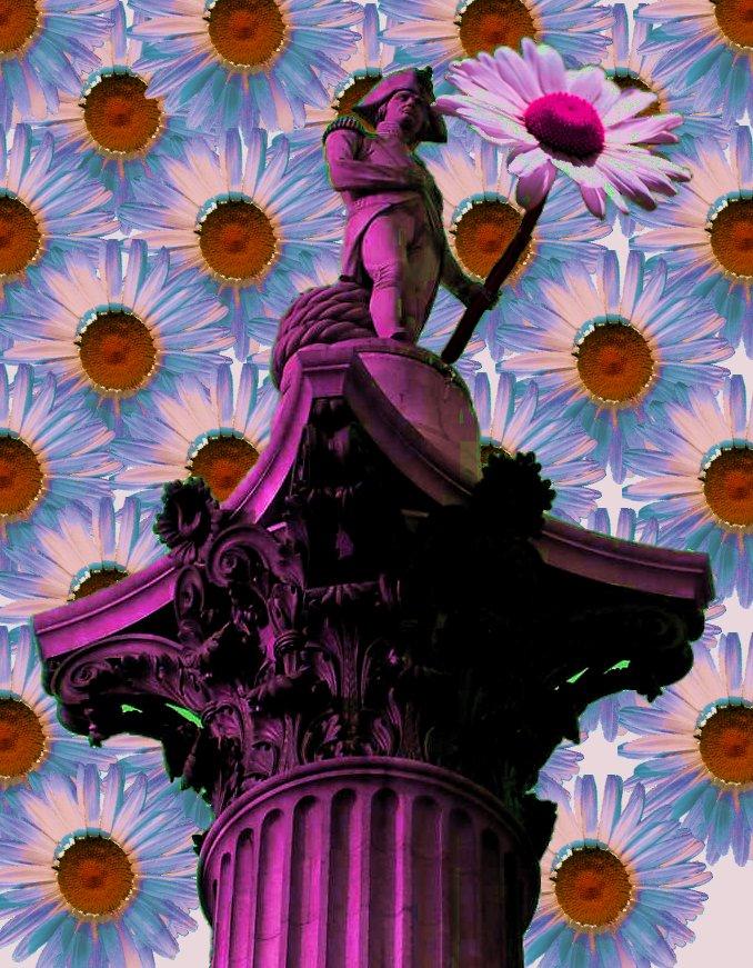 Nelson's Column by Superiorflowerpower
