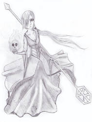 The witch - sketch