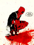 Deadpool Likes Blood Too!