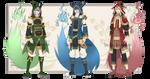 [CLOSED] Adopt Auction - GENKAKU 1-3