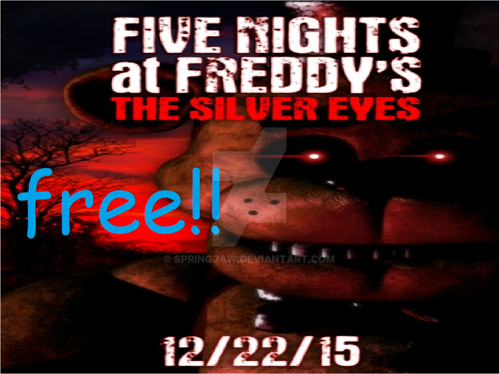 Fnaf Silver Eyes Ebook