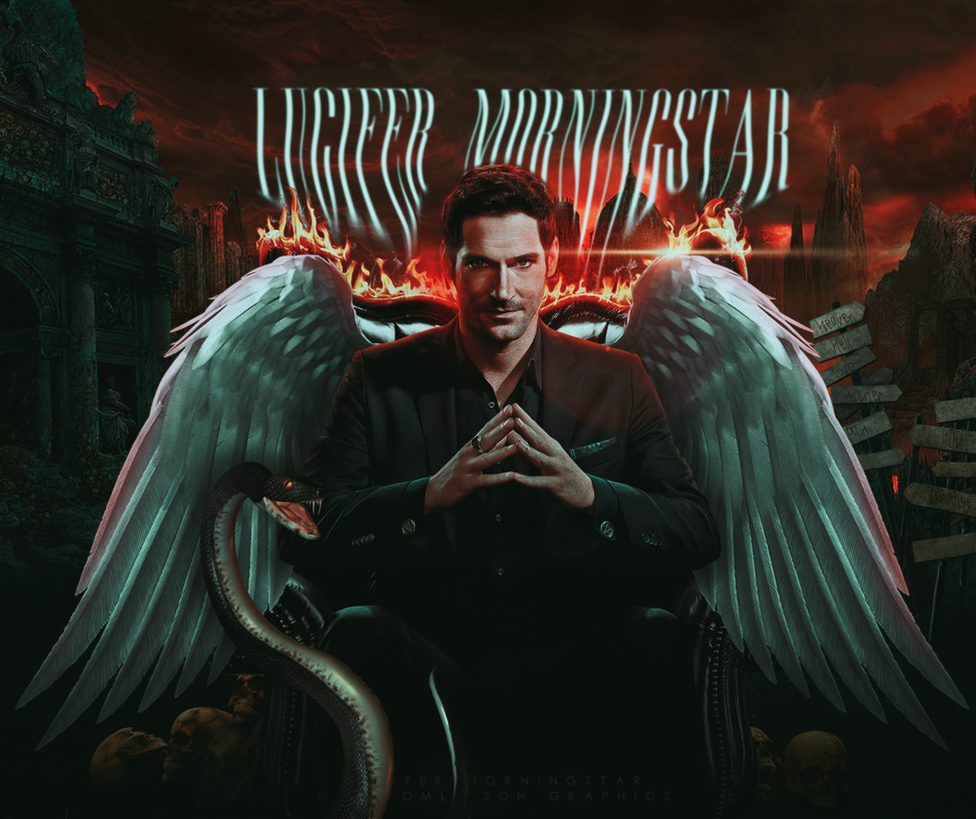 Lucifer Morningstar [Tom Ellis] by BeMyOopsHi