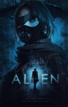 Alien [Wattpad Cover]