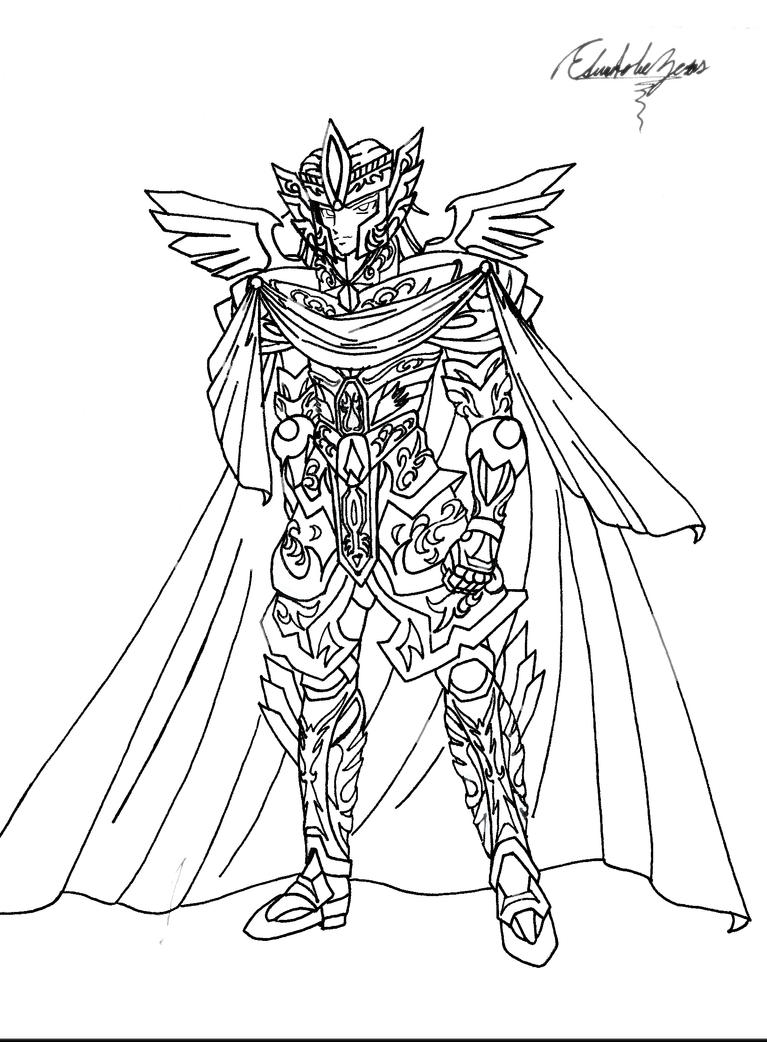 Coloring pages zeus
