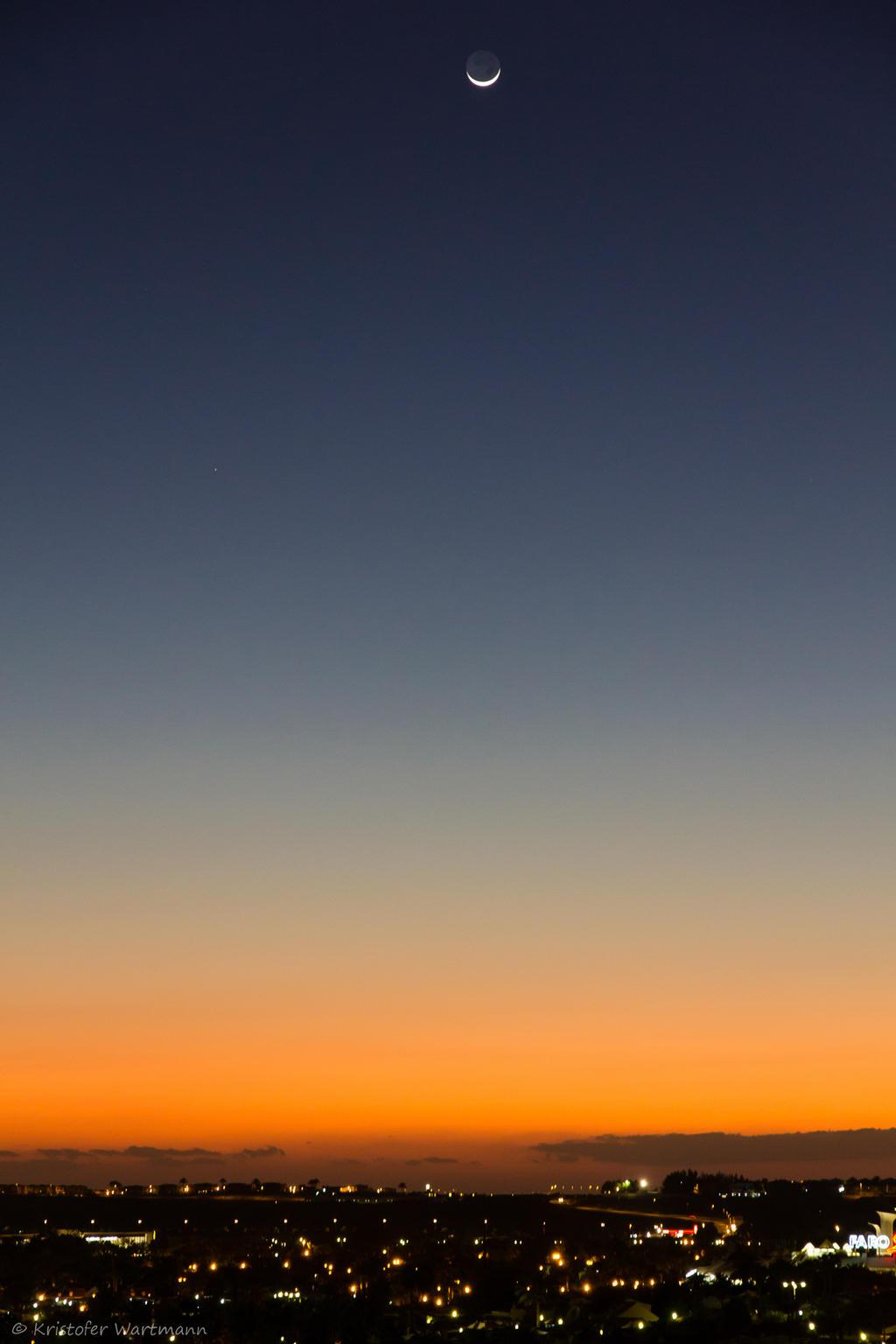 Sunset at Maspalomas by stromstoerung