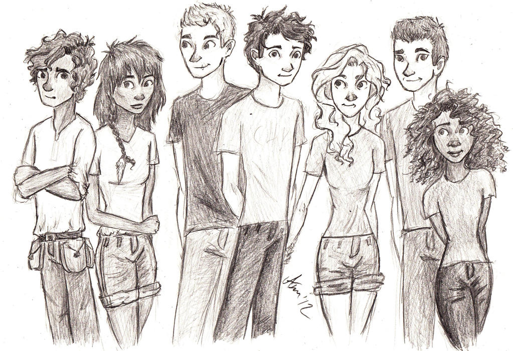 The Heroes of Olympus: The Seven by amivan on DeviantArt
