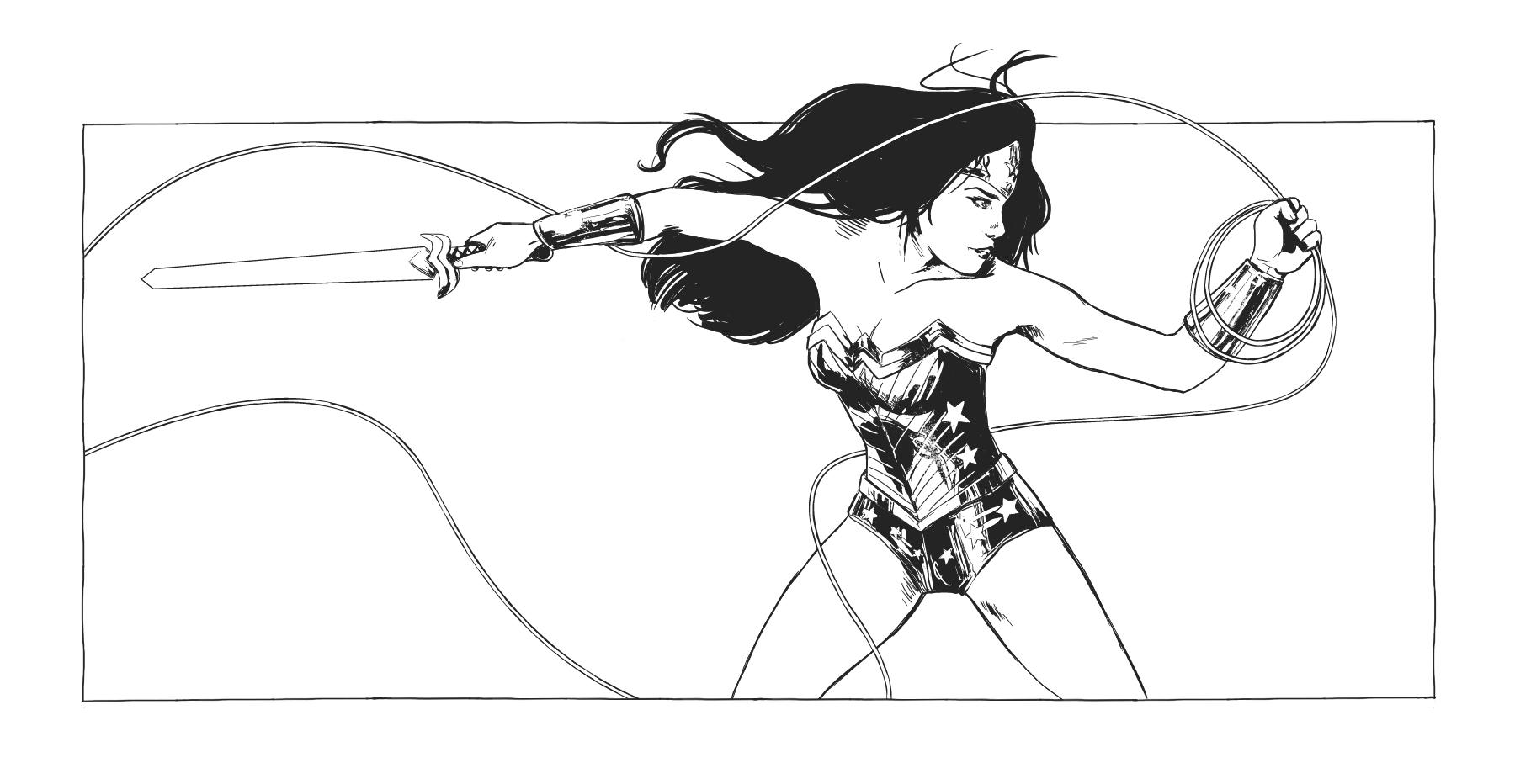 Wonder Woman INK by CateLara